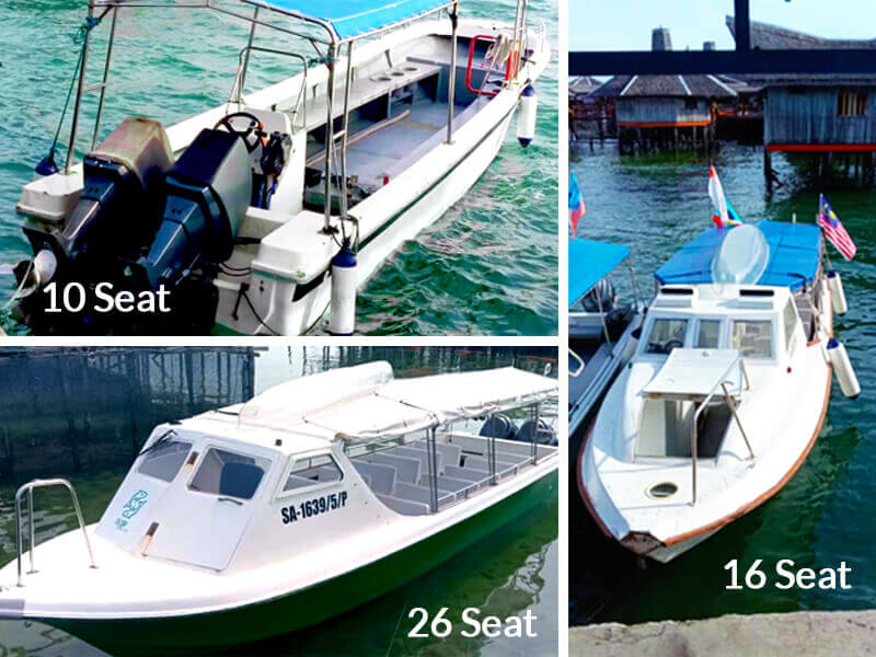 3 Types of Boats
