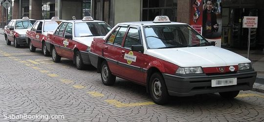 Taxi in Sabah