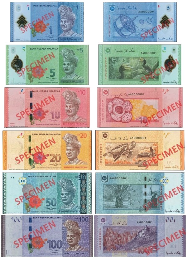 New Malaysian Notes