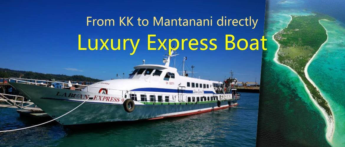 Mantanani Island Luxury Express Boat