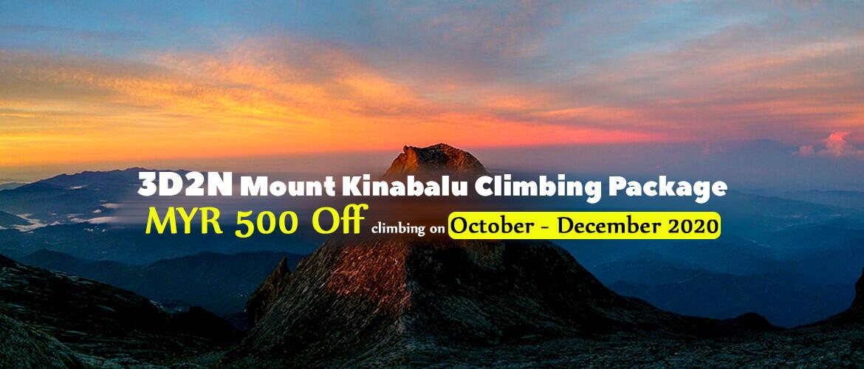 3D2N Mt Kinabalu Climbing Package