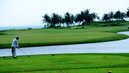 Golfing at Borneo Golf & Country Club