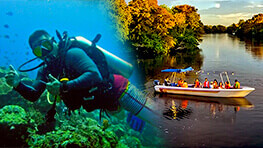 Mantanani Scuba Diving + Kawa Kawa River Cruise