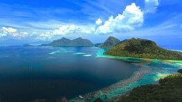 Bohey Dulang Island Hiking + Snorkeling
