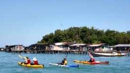 Sea Kayaking at Tunku Abdul Rahman Park