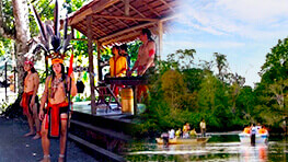 Borneo Cultural Village + Klias River Cruise