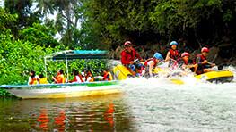 Kedamaian River Rafting + Kawa Kawa River Cruise