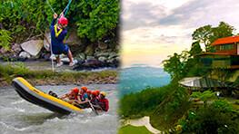 Kiulu Rafting + Zipline + Kokol Hill