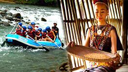 Kiulu River Rafting + Mari Mari Cultural Village
