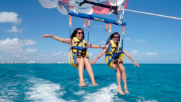 Twin Islands + Parasailing
