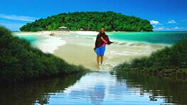 Survival Island Snorkeling + Binsuluk River Cruise