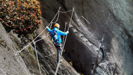 3D2N Mount Kinabalu Via Ferrata (Low's Peak Circuit)
