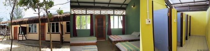 Sayang Sayang Dormitory at Mantanani
