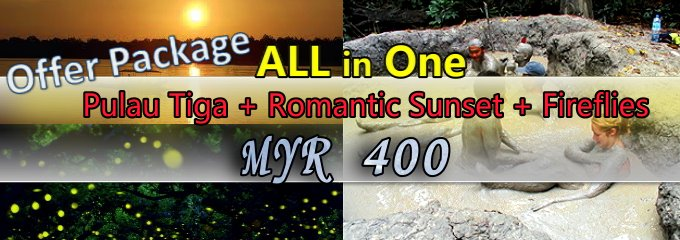 Survivor Island + Romantic Sunset + Fireflies All In One Offer Package